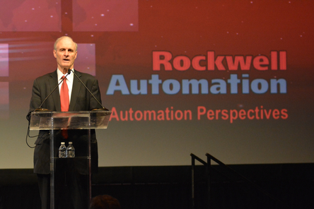 rockwell automation ceo connected enterprise