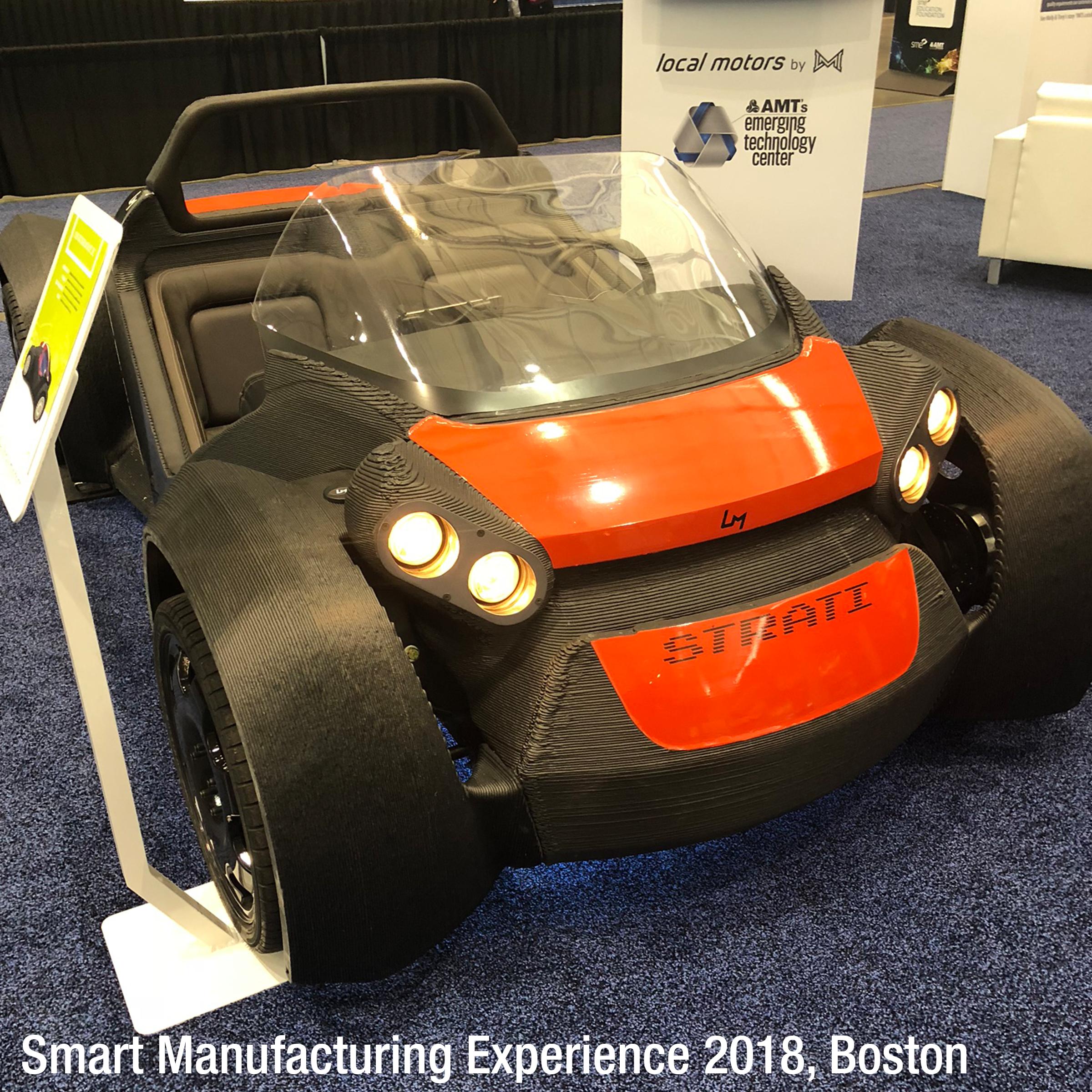 Strati, 3D printed car