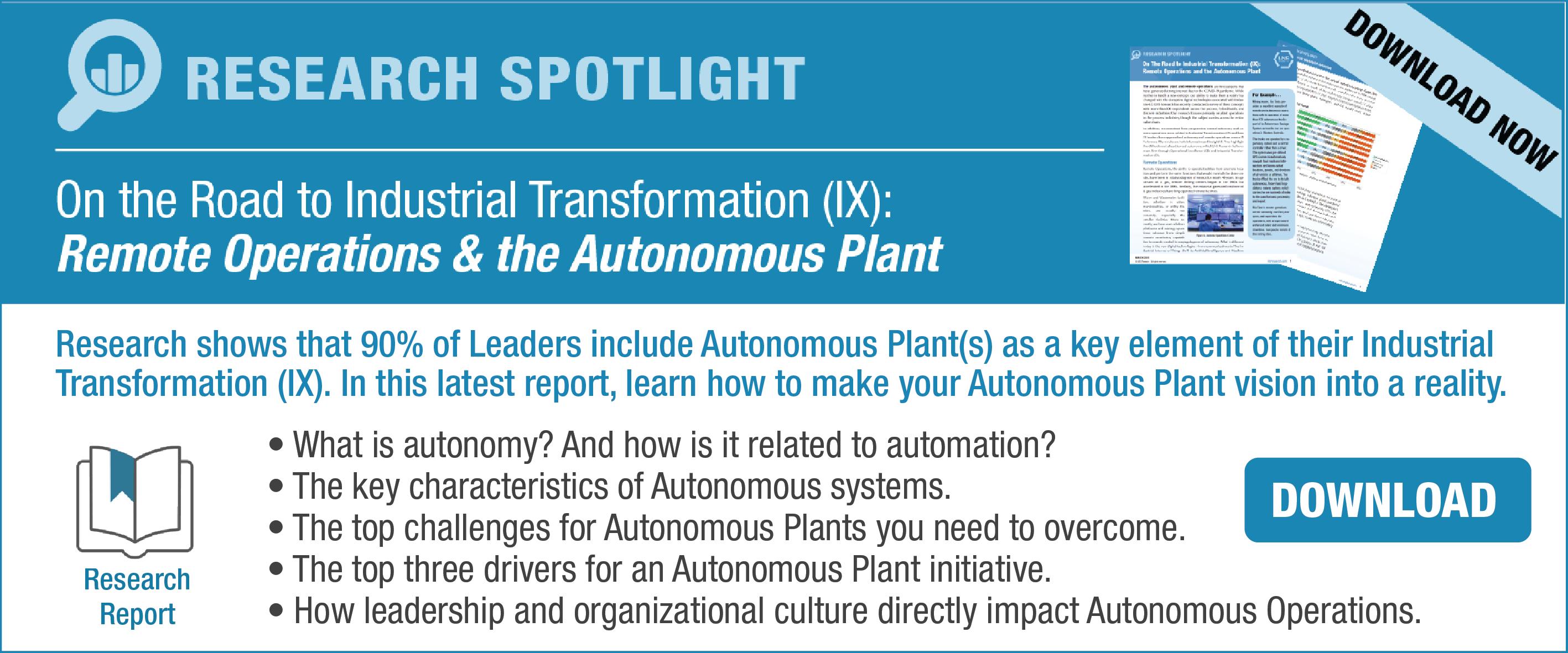 Autonomous Plant CTA