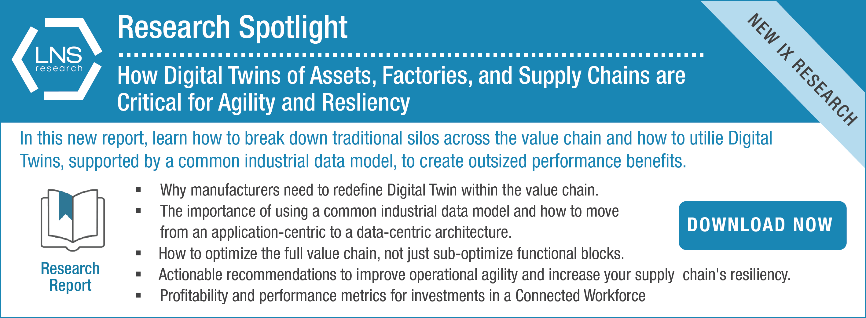 Digital Twins Assets...Supply Chains CTA