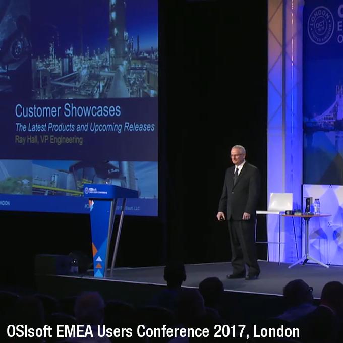 OSIsoft EMEA Users Conference 2017, London
