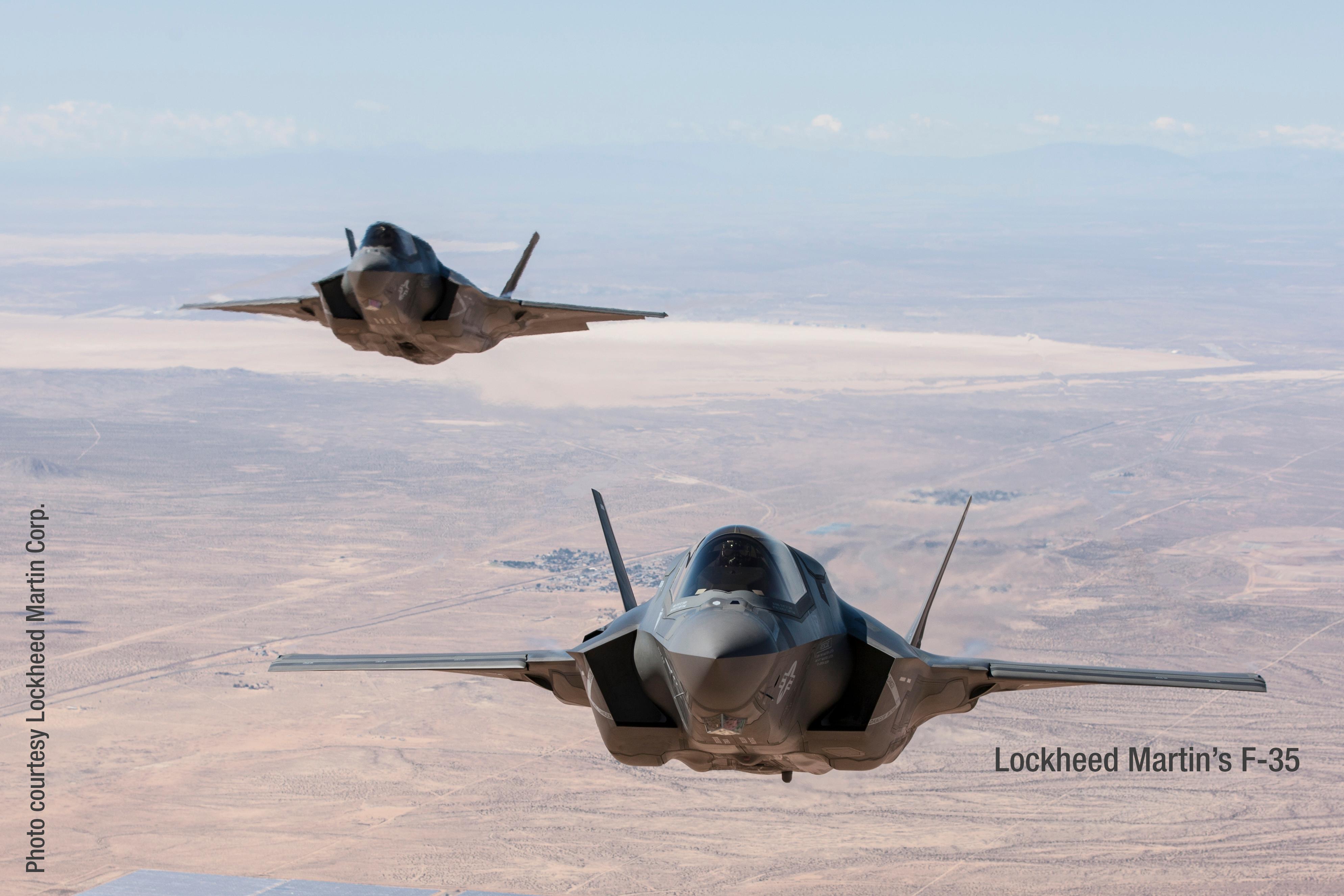 Lockheed Martin F-35 in Flight