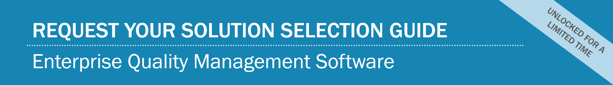 Quality 2017 Solution Selection Guide