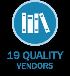 19 Quality Vendors