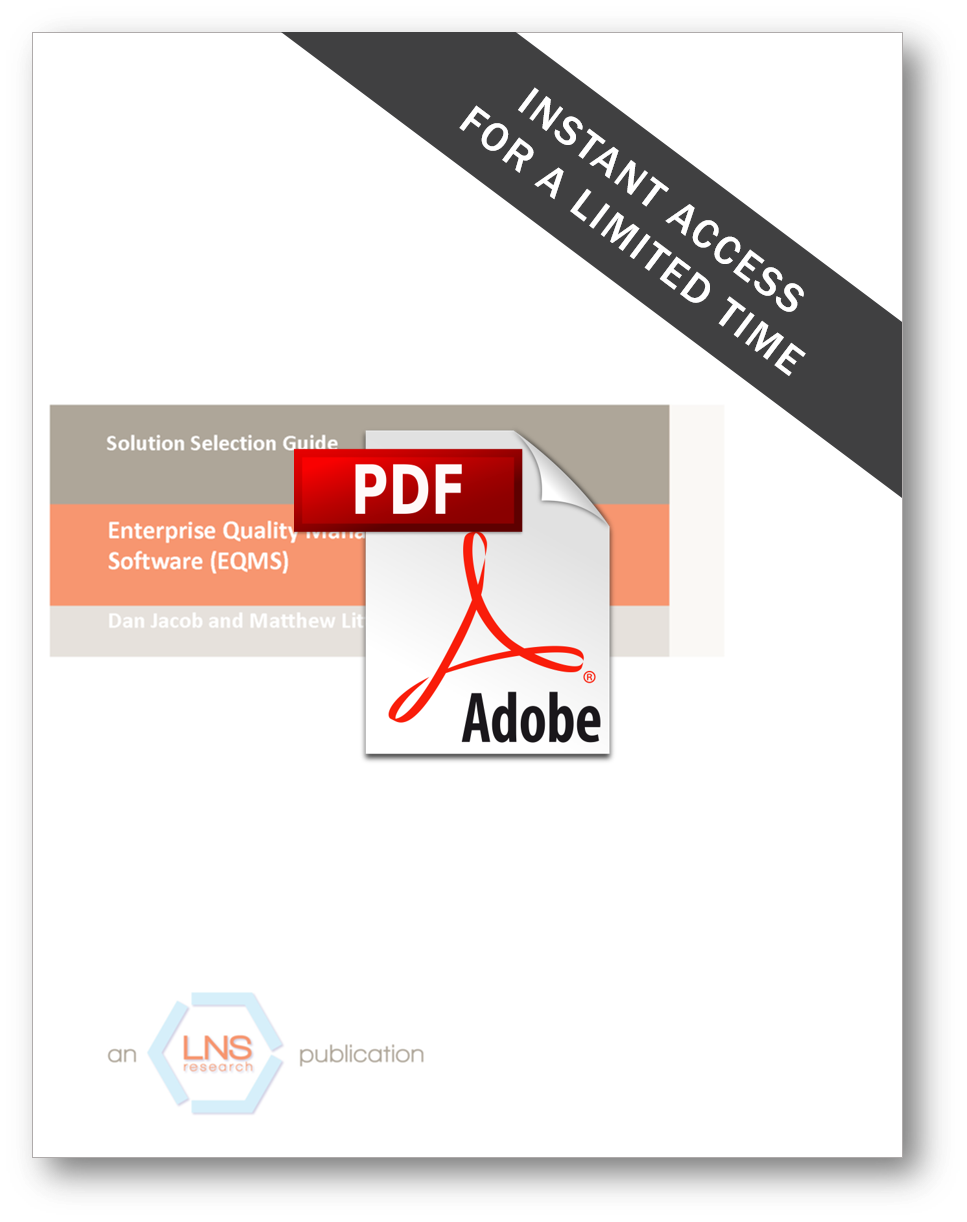 Enterprise Quality Management System Technology Solution Selection Guide