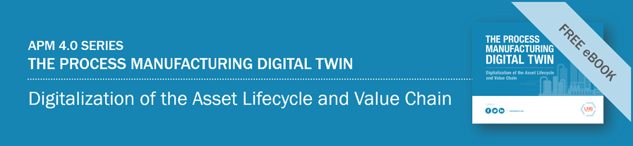Ebook | The Process Manufacturing Digital Twin