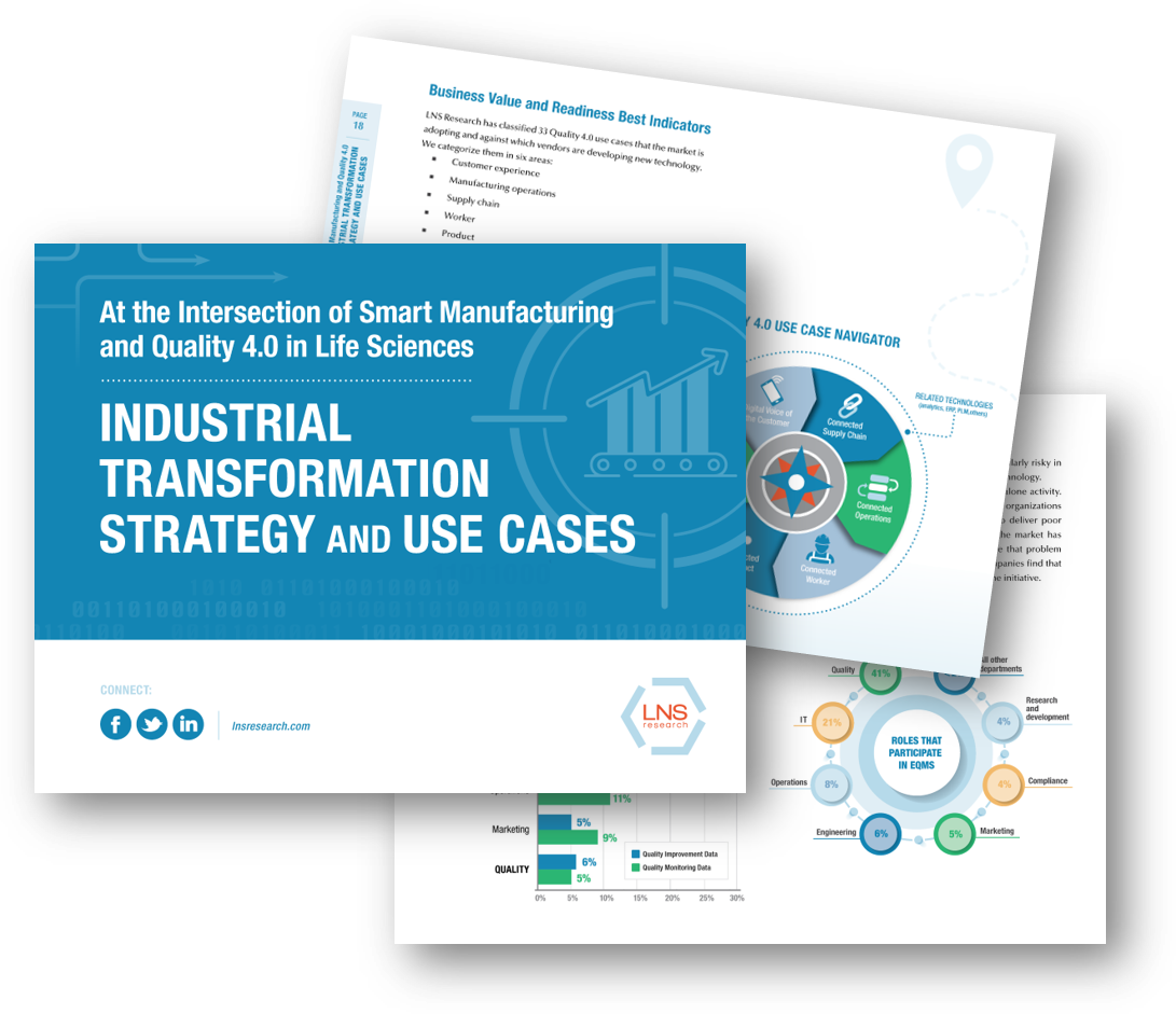 eBook   Intersection of Smart Manufacturing and Quality 4.0: Industrial Transformation Strategy and Use Cases