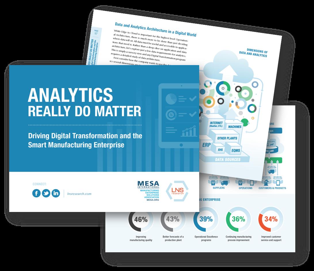 eBook: Analytics Really Do Matter: Driving Digital Transformation and Smart Manufacturing Enterprise