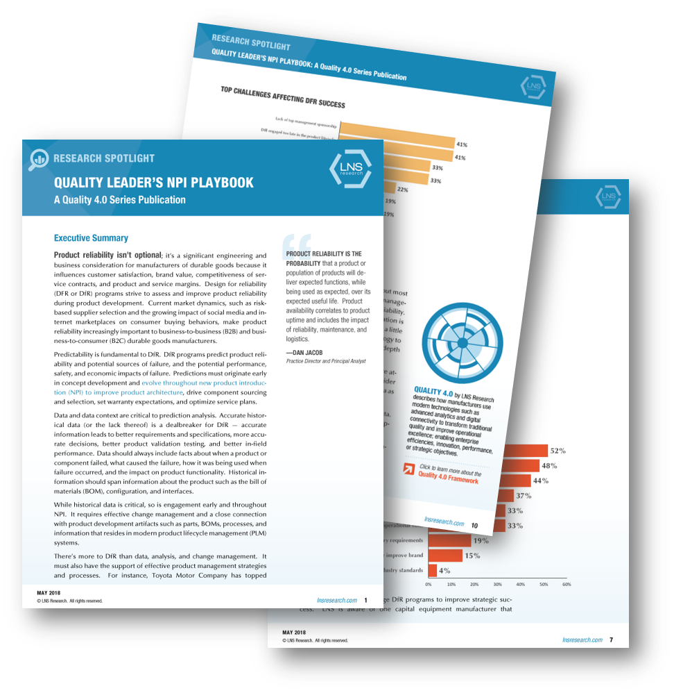 Spotlight: Quality Leader's New Product Introduction (NPI)Playbook