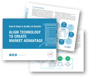 Ebook: How to Select a Quality 4.0 Solution: Align Technology to Create Market Advantage