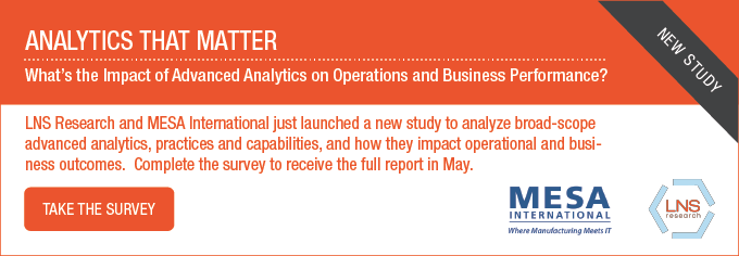 MESA-LNS: Analytics That Matter Survey