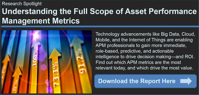 Asset Performance Management metrics