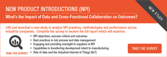 New Product Introductions (NPI) - What's the impact of data and cross-functional collaboration on outcomes?