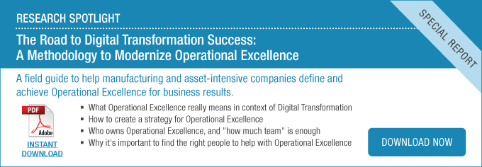 Research Spotlight: A Methodology to Modernize Operational Excellence