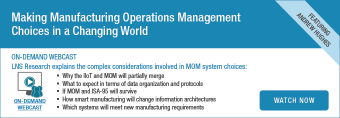 Making Manufacturing Operations Management Choices in a Changing World