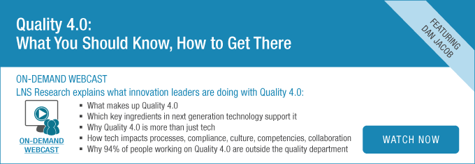[Recorded Webcast] Quality 4.0: What You Should Know, How to Get There
